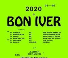 Bon Iver, Utilita Arena Birmingham, soon to be Vitilita Utilita Arena Birmingham