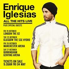 Enrique Iglesias, Genting Arena, Birmingham