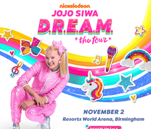 JoJo Siwa, Resorts World Arena, Birmingham