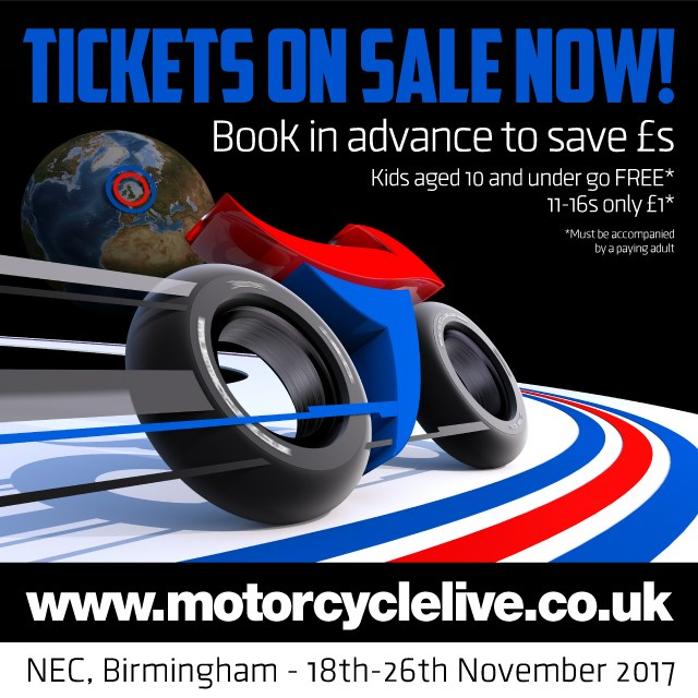 Motorcycle Live tickets