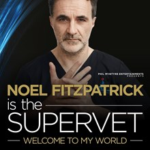 Noel Fitzpatrick is the Supervet - Welcome to My World, Arena Birmingham, formerly the Barclaycard Arena, Birmingham