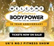 Buy now for Bodypower