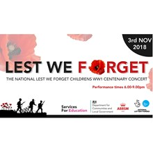 Lest We Forget - The National Children's WW1 Remembrance Concert